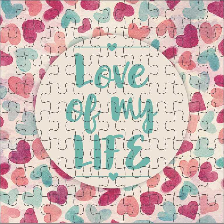 Quebra Cabeça Romântico - Love Of My Life