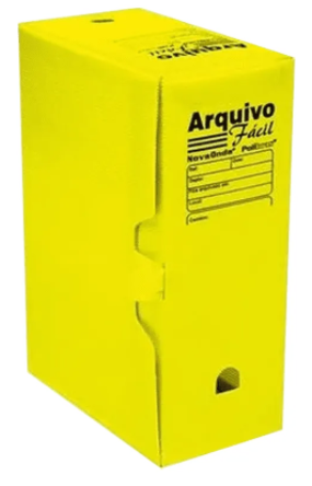 Arquivo Morto Polionda Amarelo - Polibras