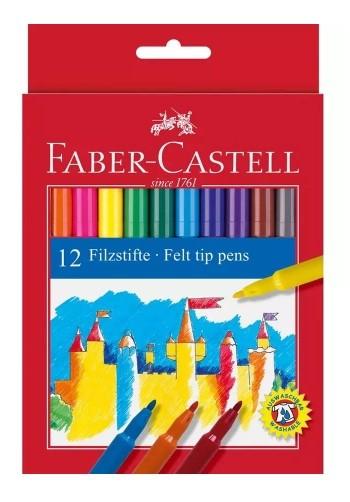 Canetinha 12 Cores Faber-Castell