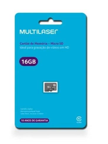Cartão de Memória 16GB Ref MC143 Multilaser