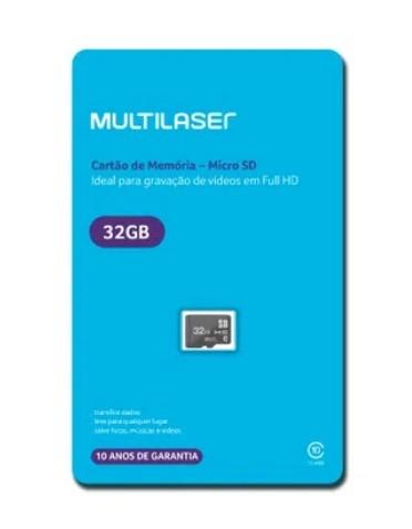 Cartão de Mémoria 32GB Ref MC145 Multilaser