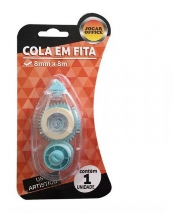 Cola Em Fita 8mm X 8m Jocar Office
