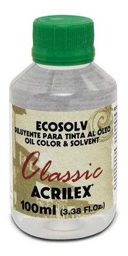 Ecosolv Diluente Para Tinta À Óleo 100ml Acrilex