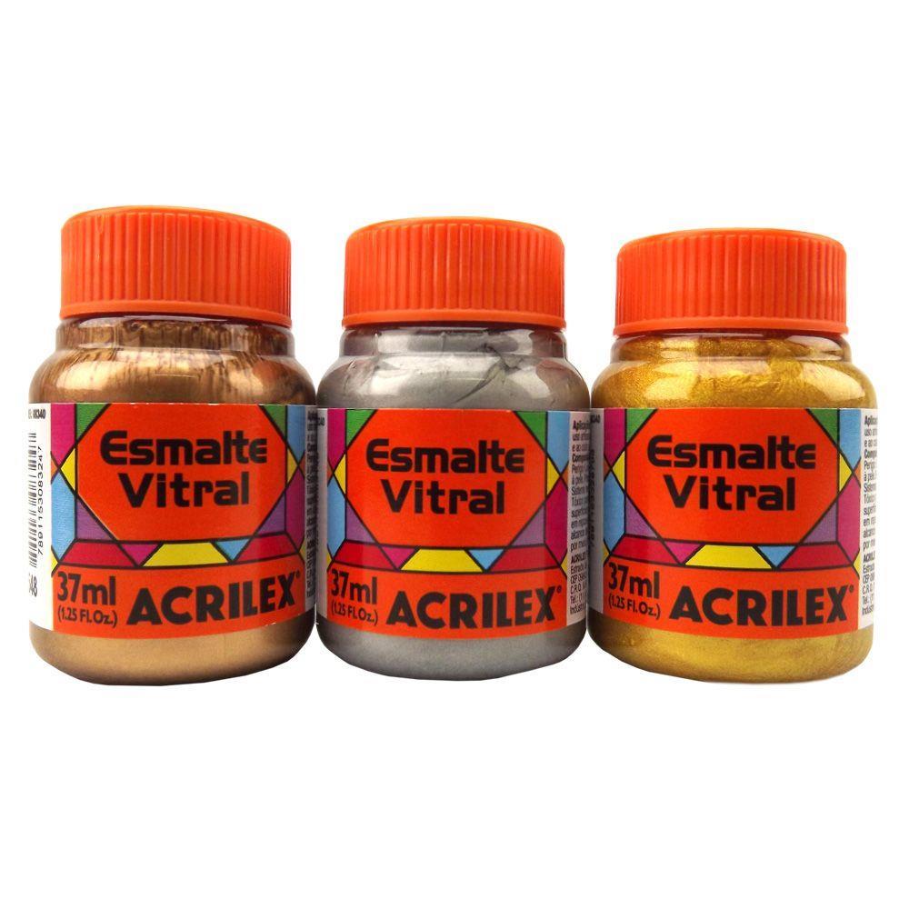 Esmalte Vitral 37ml Acrilex
