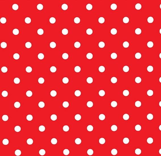 Eva Decorado Vermelho e Branco Make +