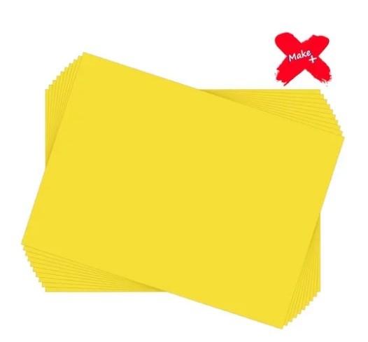 Eva Liso Amarelo Bebê Make +