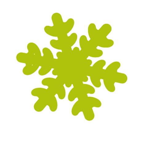 Furador de EVA 25MM Floco de Neve Leonora