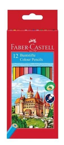 Lapis de Cor Sextavado Sem Kit 12 Cores Faber-Castell