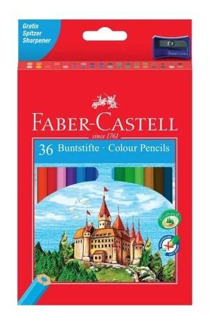 Lapis de Cor Sextavado Sem Kit 36 Cores Faber-Castell