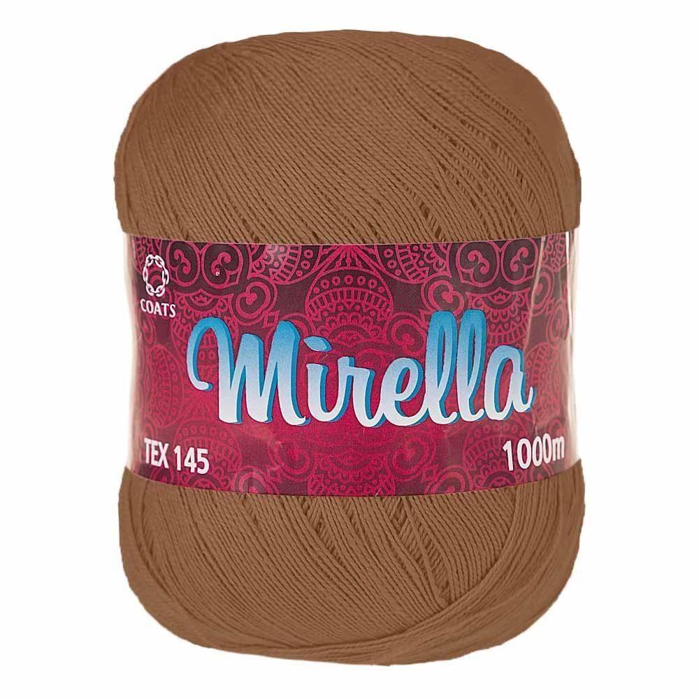 Linha de Crochê Mirella 1000m Ref 00285 - Coats Corrente