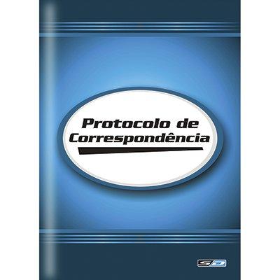 Livro Protocolo de Correspondência 1/4 100 Folhas - São Domingos