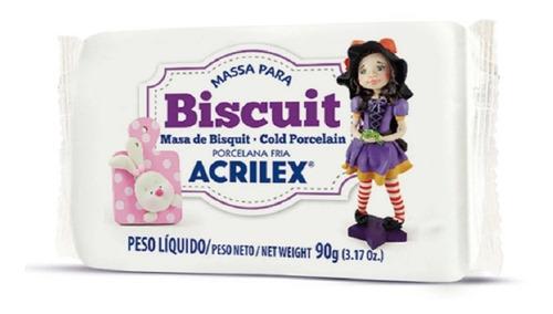 Massa para Biscuit 90G Acrilex