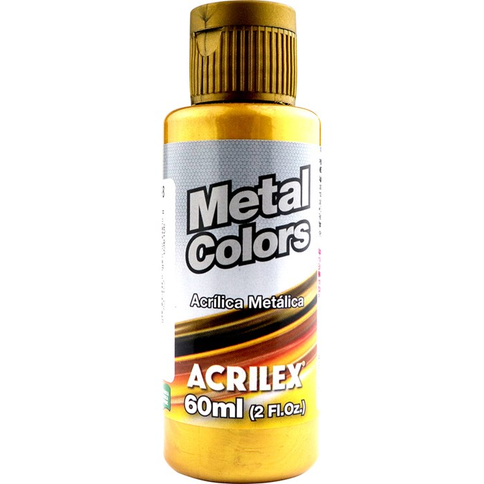 Metal Colors Acrilex 60ml