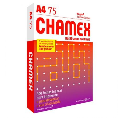 Papel Sulfite  A4 com 300 - Chamex