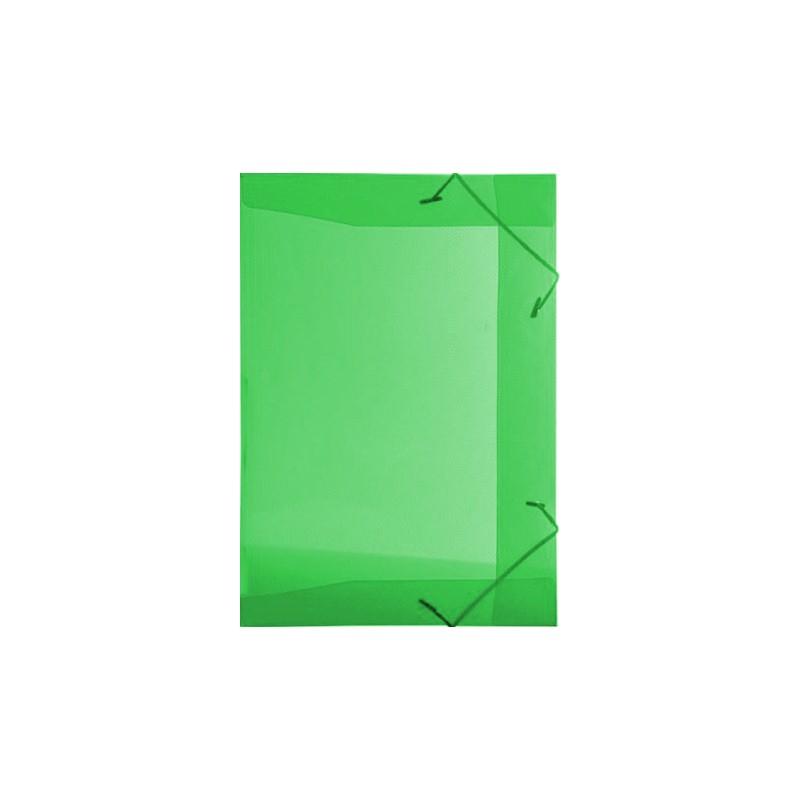 Pasta Plástica com Elástico Pequena - Verde
