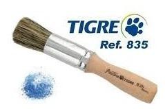 Pincel Tipo Brocha Nº 0 Linha 835 Tigre