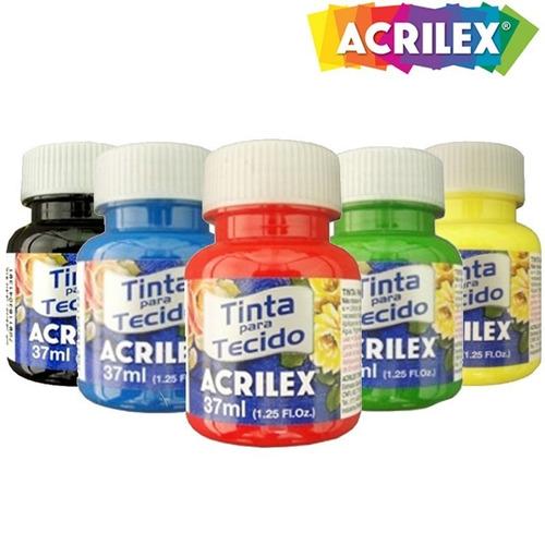 Tinta De Tecido Acrilex 37ml