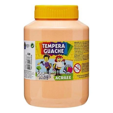 Tinta Guache 500ml Acrilex - Amarelo Pele