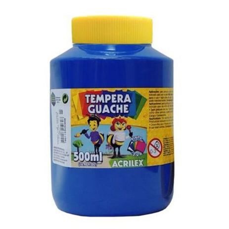 Tinta Guache 500ml Acrilex - Azul