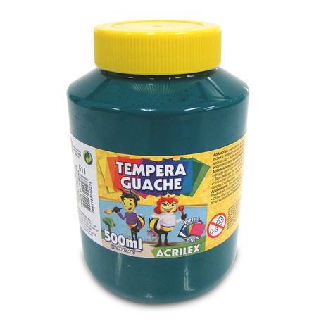 Tinta Guache 500ml Acrilex - Verde