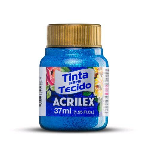 Tinta para Tecido Glitter  Acrilex
