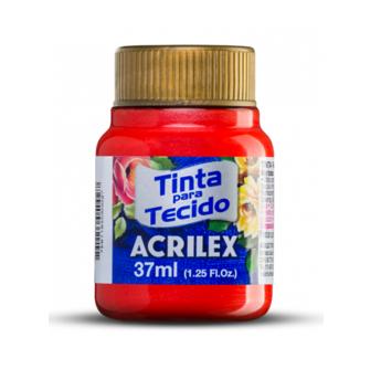 Tinta para Tecido Metalica 37ml Acrilex
