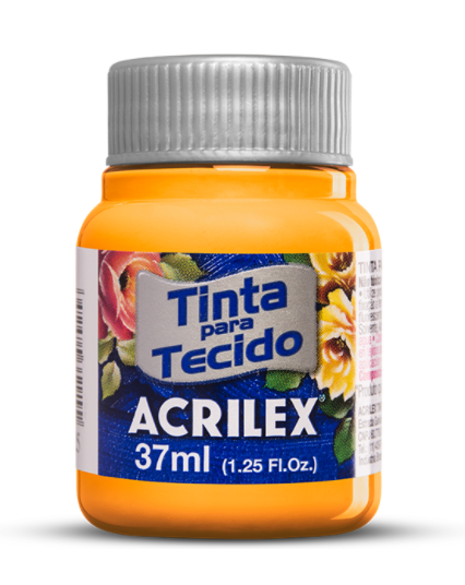 Tinta para Tecido Pote 37ml Acrilex