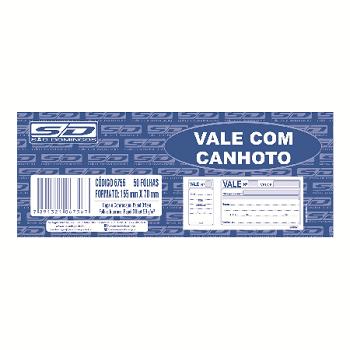Vale com Canhoto 50 Fls São Domingos