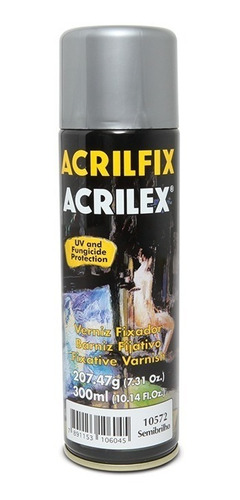 Verniz Spray Brilhante Acrilfix 300 Ml Acrilex