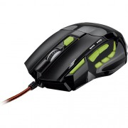 MOUSE MULTILASER GAMER FIRE VERDE