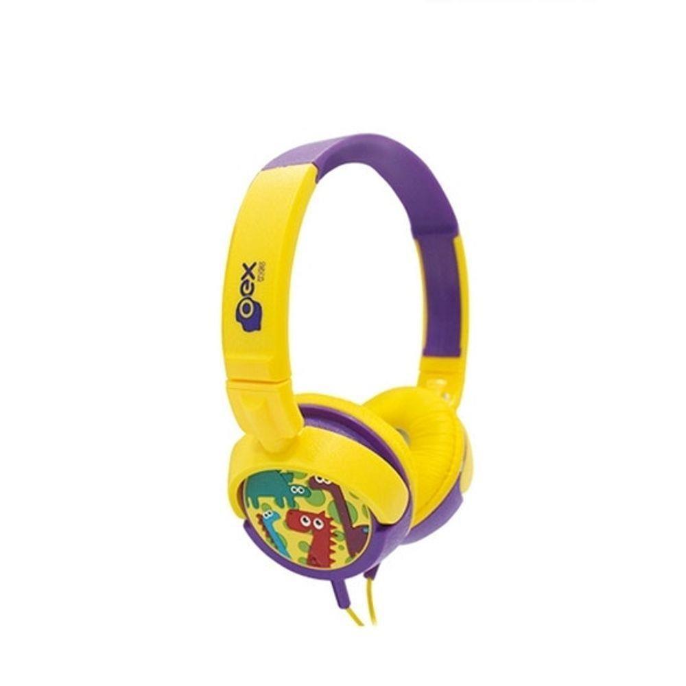 FONE OEX DINO INFANTIL HP300