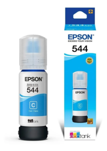 GARRAFA TINTA EPSON 544 - CIANO