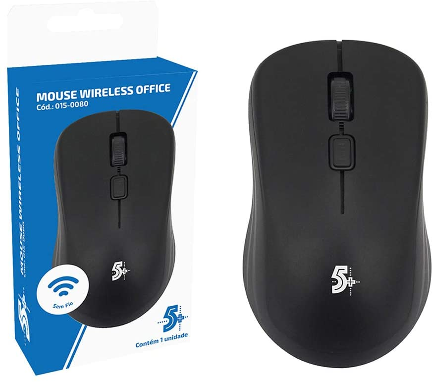 MOUSE CHIPSE 5+ S/FIO OFFICE