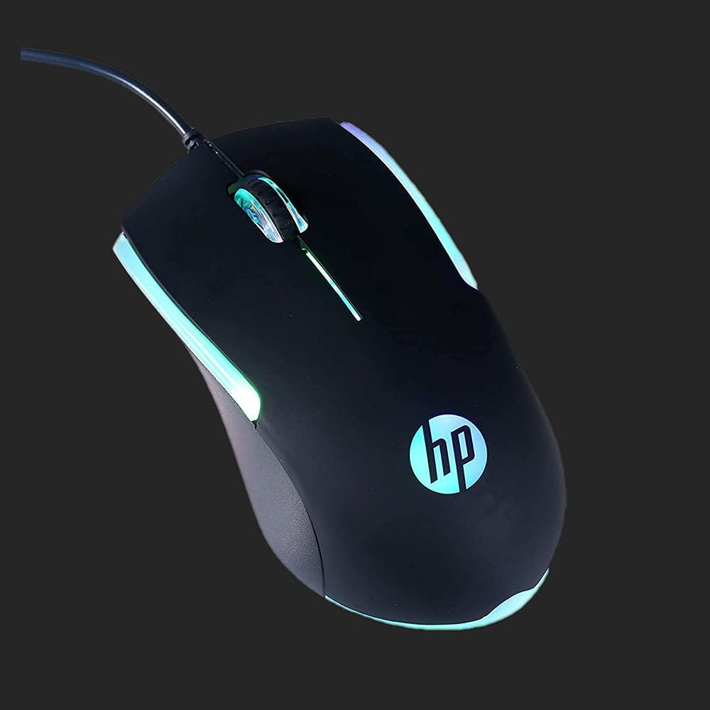 MOUSE HP GAMER USB M160 RGB PRETO