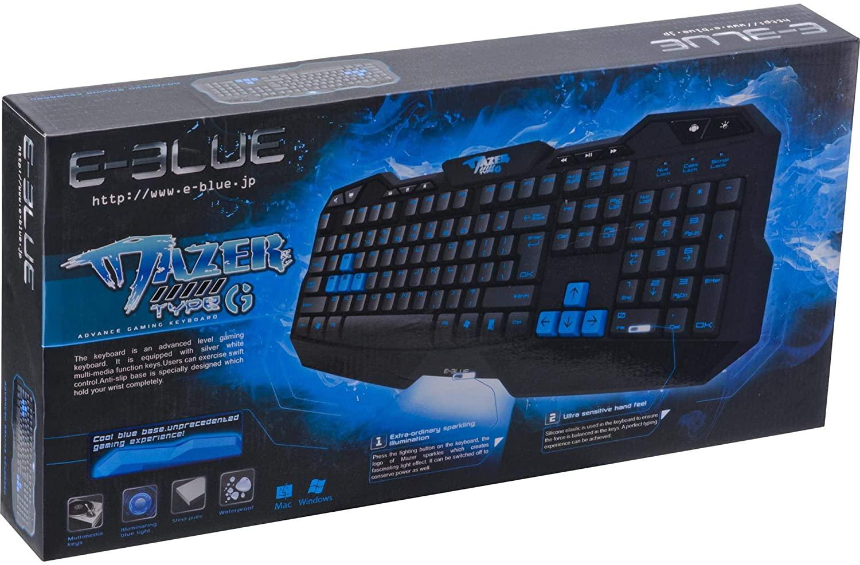 TECLADO E-BLUE GAMER TYPE-G