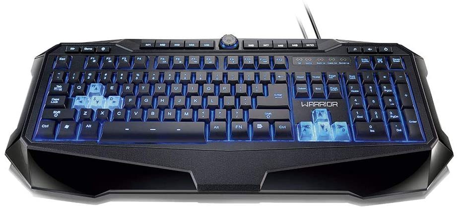 TECLADO MULTILASER GAMER WARRIOR DALEK