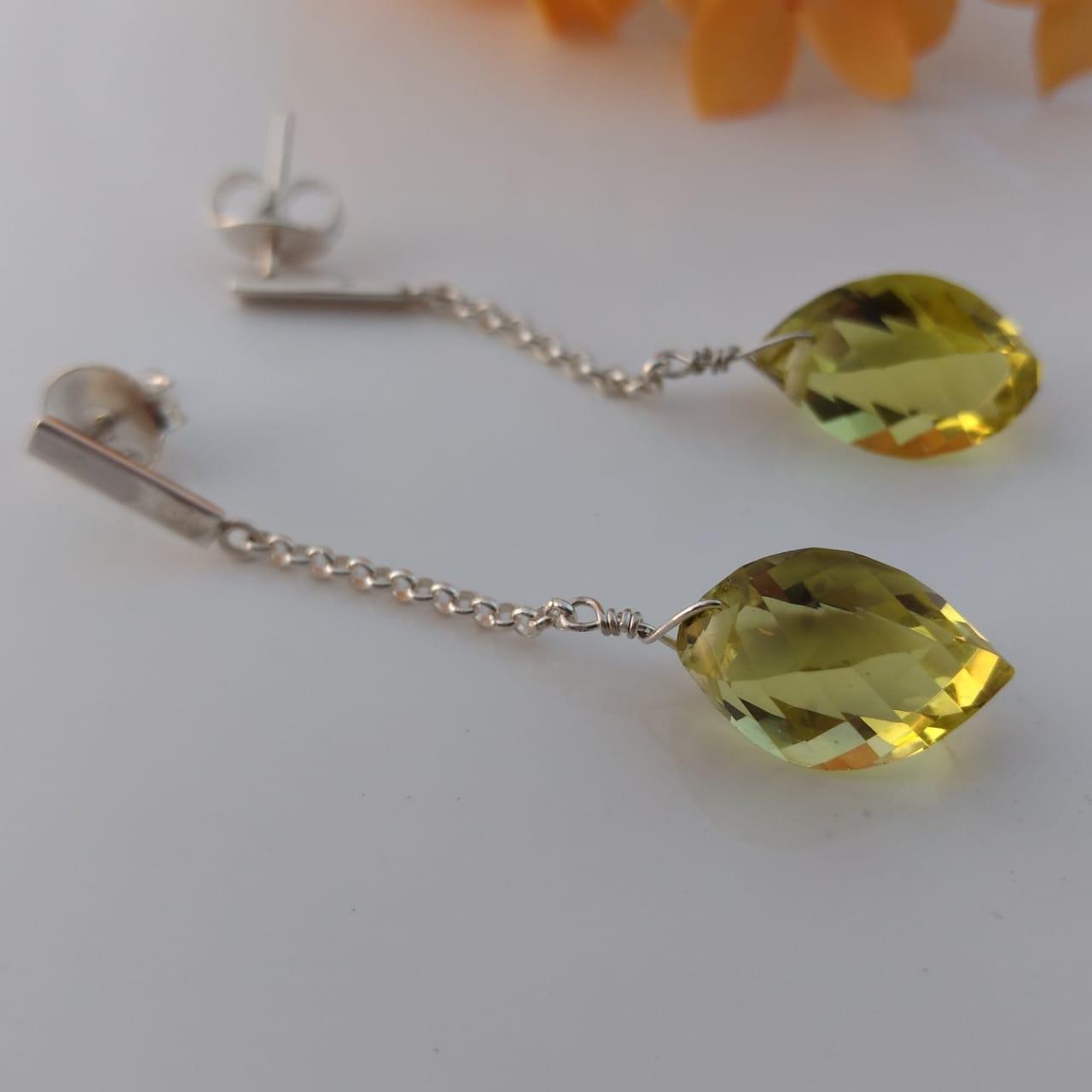 Brincos Green Gold catavento