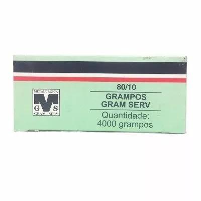 10 Cx. Grampo Para Grampeador 80/10mm Pneumatico Rocama