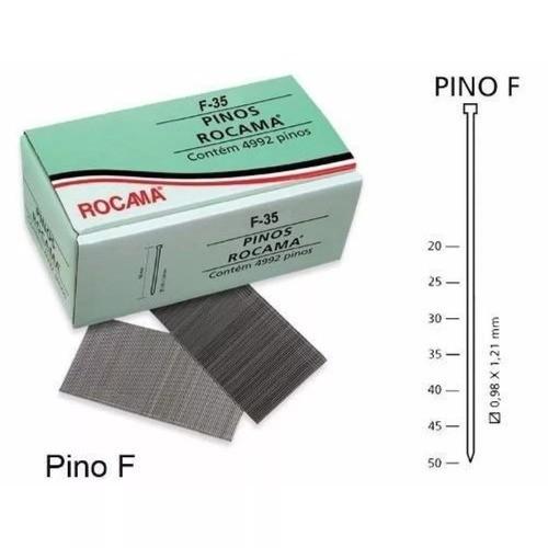 5 Caixa Pino Para Pinador F-35 Rocama Caixa Com 4992 Pinos