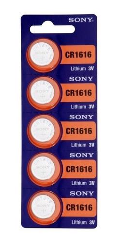 Bateria Pilha Cr1620 Cartela Com 5 Unidades