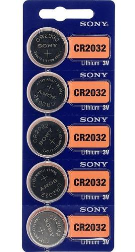 Bateria Pilha Cr2032 Cartela Com 5 Unidades