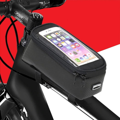 Bolsa Bag Celular Bike E Moto Guarda Volume Mattos Racing