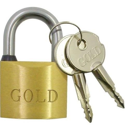 Cadeado Gold Tetra Chave 60 Maior Resistência