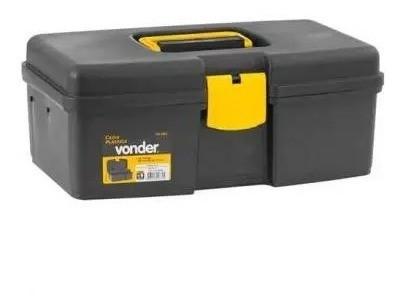Caixa De Plástico P Ferramentas Da Vonder Pp Com 1 Bandeja Vd1002