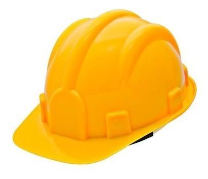 Capacete De Segurança Delta Plus P/ Construção 37799 Amarelo