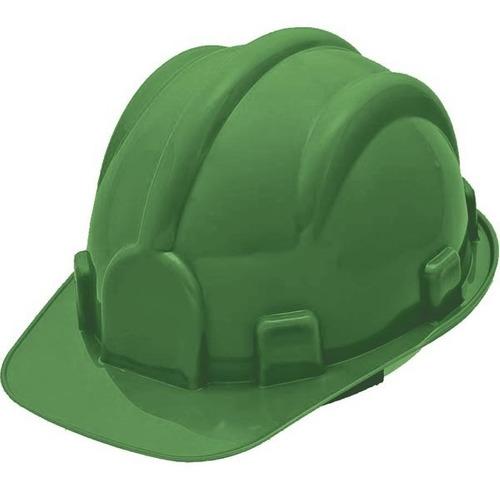 Capacete De Segurança Delta Plus P/ Construção 37804 Verde