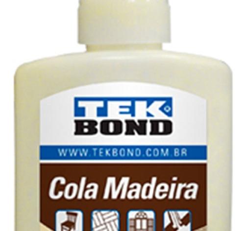 Cola Madeira Tek Bond 100g