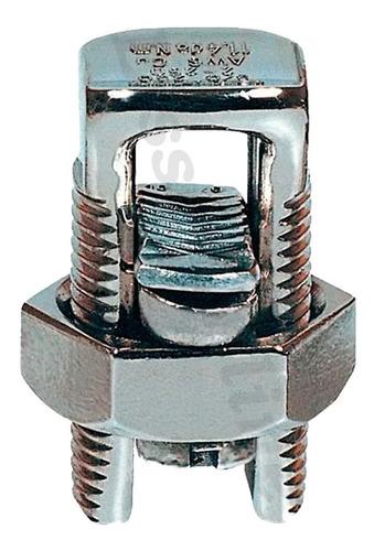 Conector Parafuso Fendido Cabos Fios 10mm Split Bolt