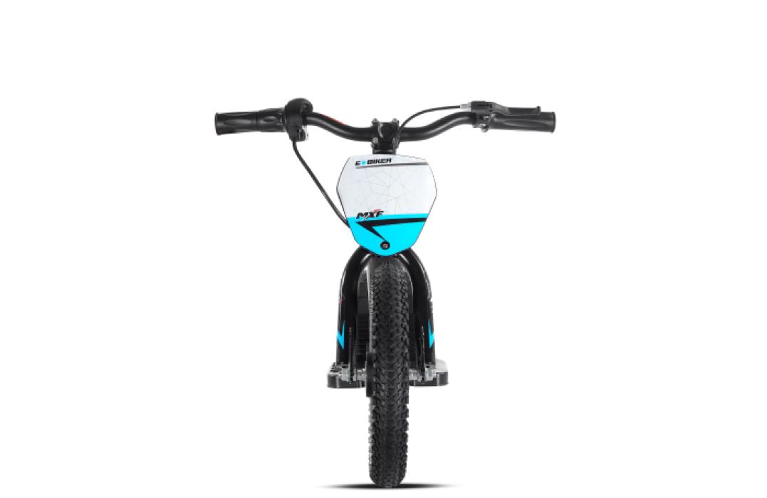 Bicicleta Mxf Elétrica Aro 12 Bike Infantil Equilíbrio