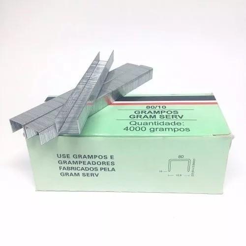 Grampo Para Grampeador 80/10mm Pneumatico Rocama 1cx